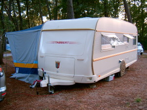 RV insurance Quotes - RV Trailer on campgrounds