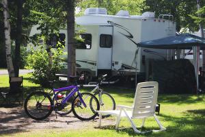 RV Insurance - RV campsite