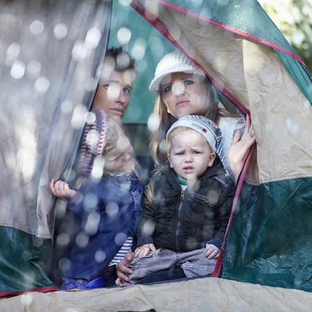 Swap Tent for RV Rain