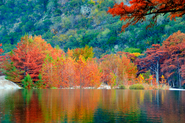 The top 10 fall rv destinations in the u s for Best fall destinations in the us