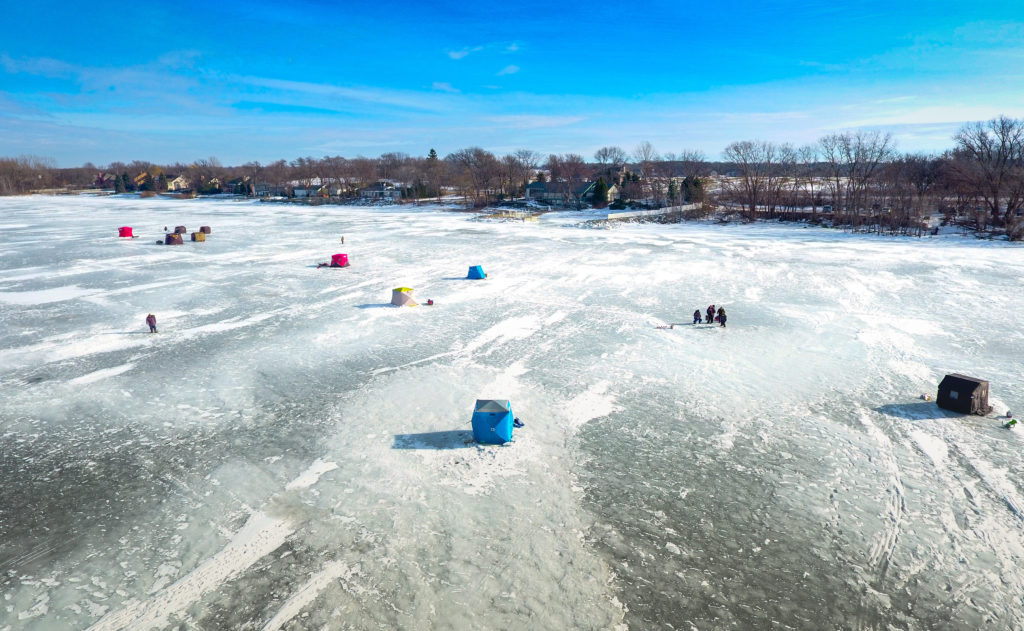 Top 10 ice fishing spots for winter rvers for South dakota ice fishing guides