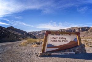 Death valley summer campsites