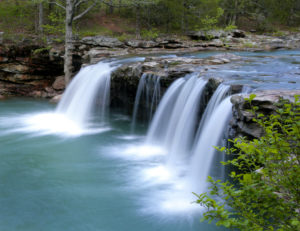 ozark national forest waterfall campsites