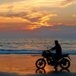 motorcycle rides by the beach