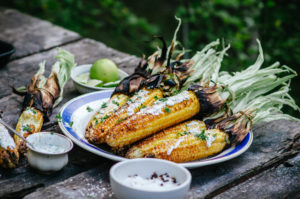 grilled corn on the cob campfire recipes