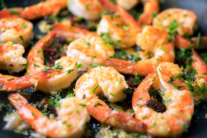 shrimp scampi foil campfire recipes