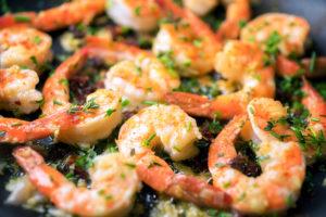 shrimp scampi foil campfire recipes