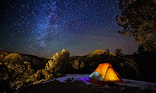 best stargazing campsites