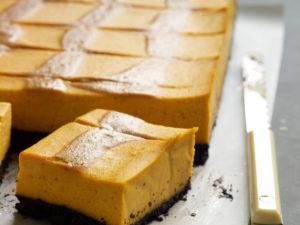 Thanksgiving menu pumpkin recipe