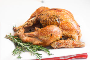 Thankgiving menu roasted turkey recipe