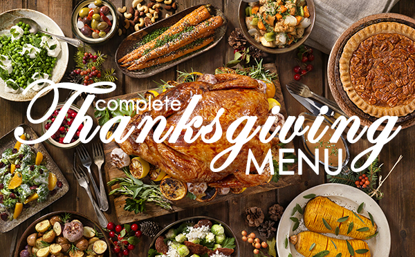 A Complete Thanksgiving Menu: 5 Delicious Recipes