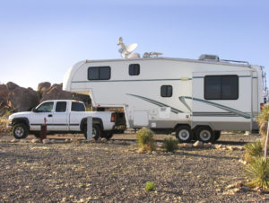 fifth wheel recreational vehicle