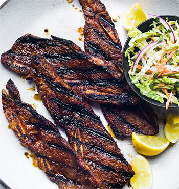 Grill Recipes Sweet and Spicy Grilled Beef Short Ribs
