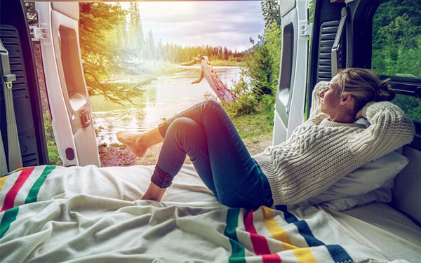 comfortable in rv