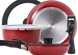 Stackable Pots and Pans