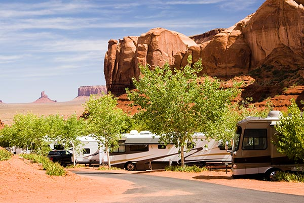RV industry campground