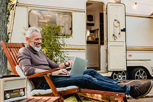 rv travel - working remotely