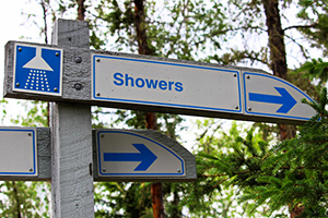 camp showers