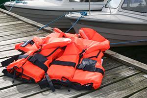 life jacket - de-winterize