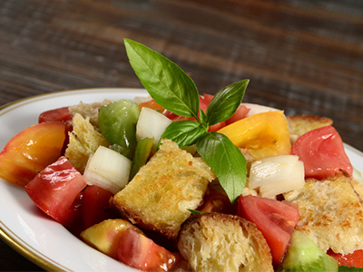 Tomato and Balsamic Bread Salad