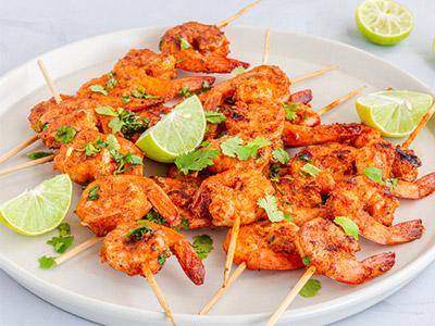 Chile lime shrimp