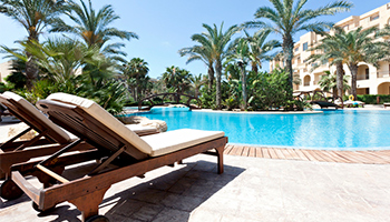 RV resort in palm springs