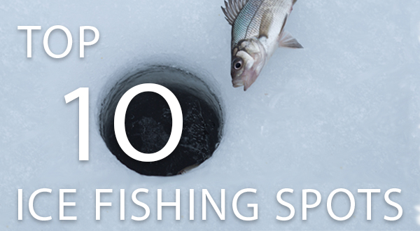 Top 10 Ice Fishing Spots for Winter RVers