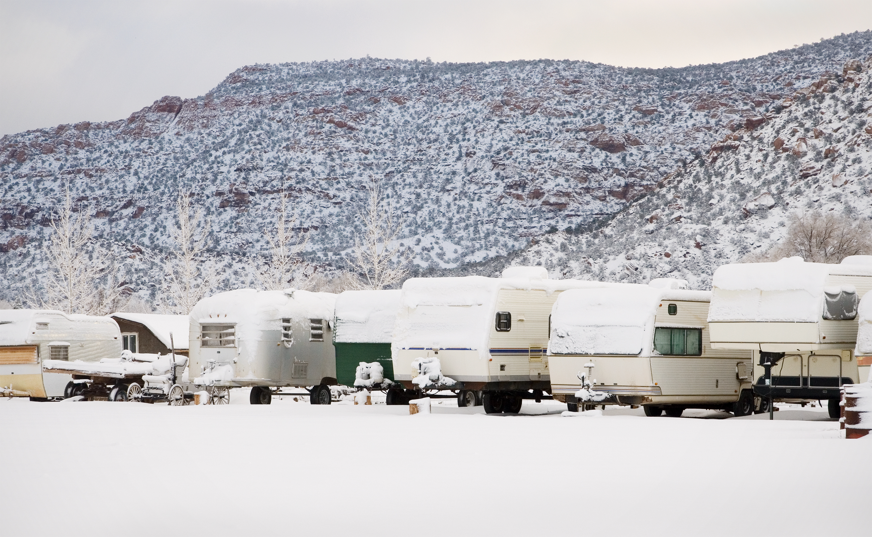 RVs Made for Winter: The Cold Is No Problem