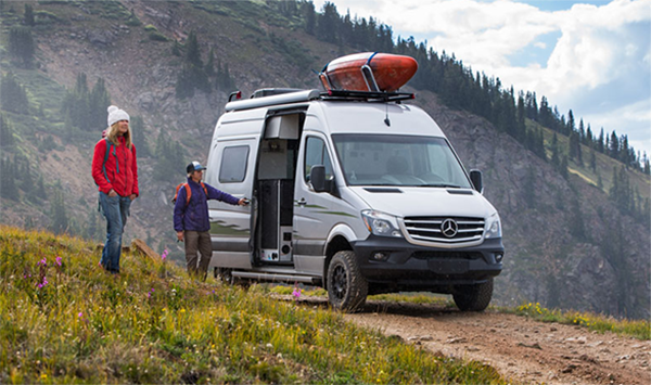 How a Mercedes Sprinter Van Conversion May be Your Ticket to #VanLife