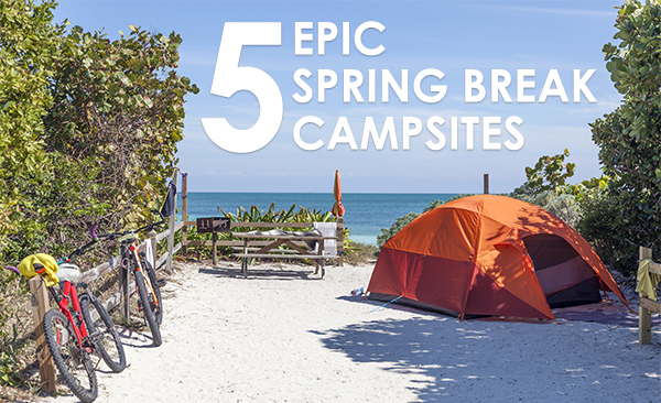 Where Are The Best Campsites for Spring Break?