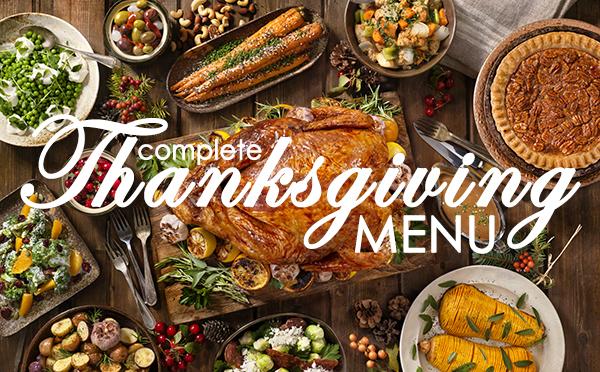 A Complete Thanksgiving Menu: 5 Delicious Recipes